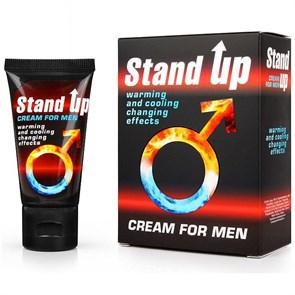 """STAND UP - Возбуждающий крем для мужчин серии """"Sex Expert"""", 25 гр"""