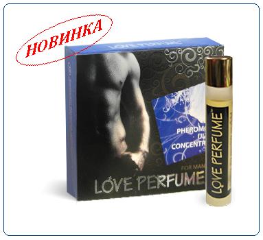 Концентрат мужских феромонов Love Parfume с элитным ароматом