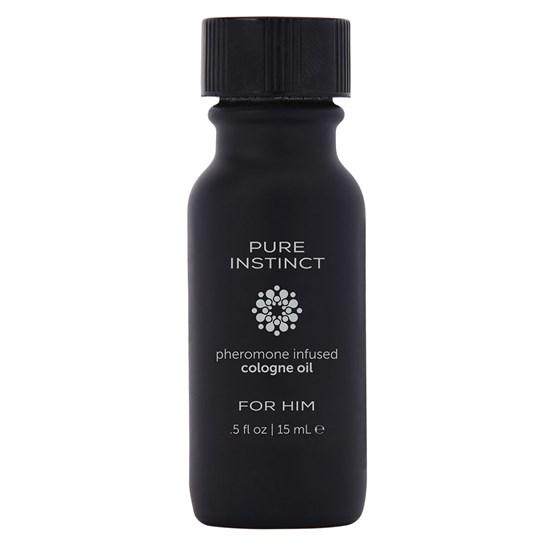 Мужское парфюмерное масло с феромонами PURE INSTINCT - 15 мл. - фото 172511