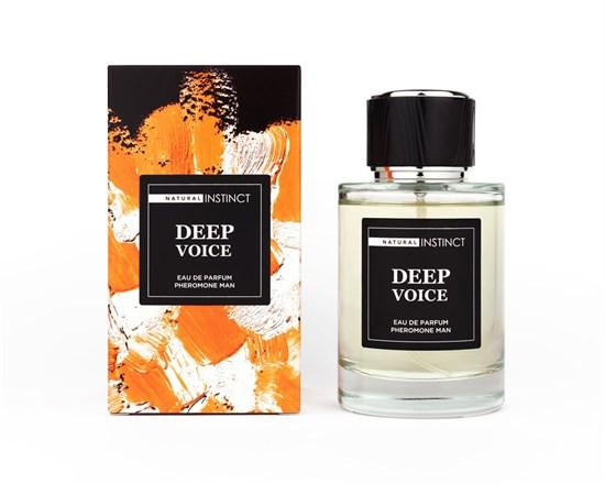"""Мужская парфюмированная вода с феромонами """"Deep Voice Natural Instinct"""", 100 мл"""