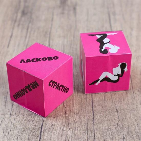 Кубики для любовных игр  Девушки  - фото 267175