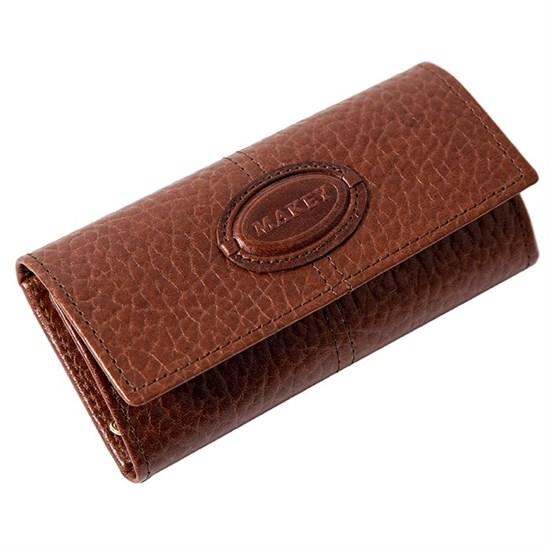 Кожаный футляр для ключей Classic, цвет тоскана (фото)