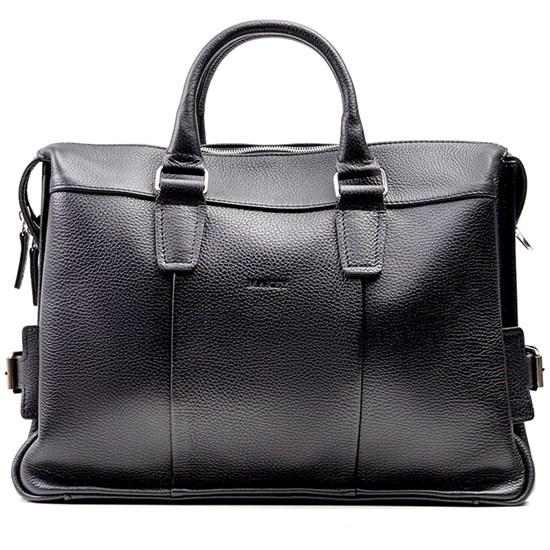 """Кожаная мужская сумка-портфель """"Mayfair"""", цвет черный"""