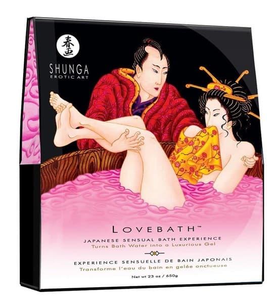 """Набор возбуждающих гелей для ванны Shunga Love Bath/ Ванна Любви """"Фруктовый Дракон"""", 2х 225 мл"""
