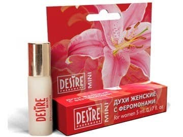 Духи женские с феромонами Mini blister №15, аромат Oblique Play- Givenchy, 5 мл - фото 3855