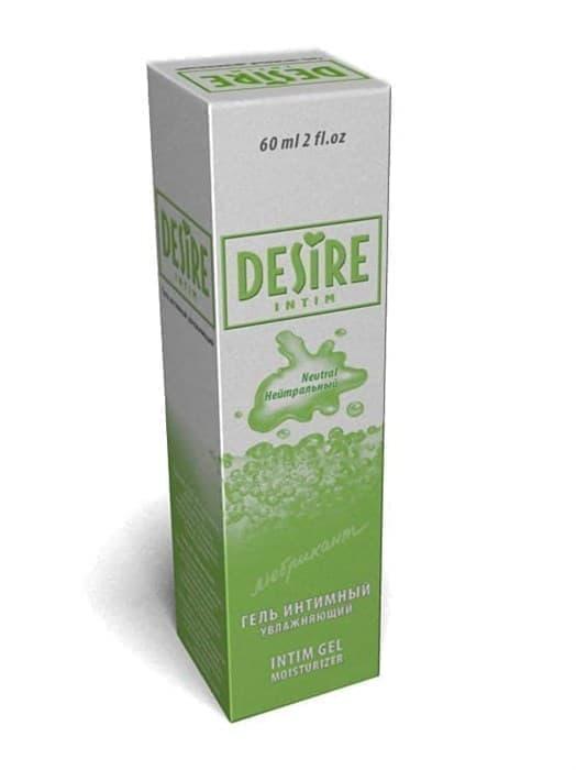 """Интимный увлажняющий гель """"Desire Intim"""" без вкуса и запаха (Нейтральный), 60 мл"""