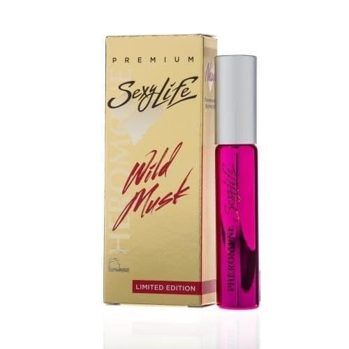 Женские духи Sexy Life Wild Musk №4 с мускусом и феромонами (философия аромата Eros Versace), 10 мл
