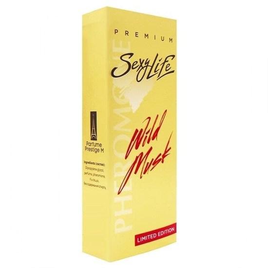 Женские духи Sexy Life Wild Musk №6 с мускусом и феромонами (философия аромата Aoud Vanille), 10 мл