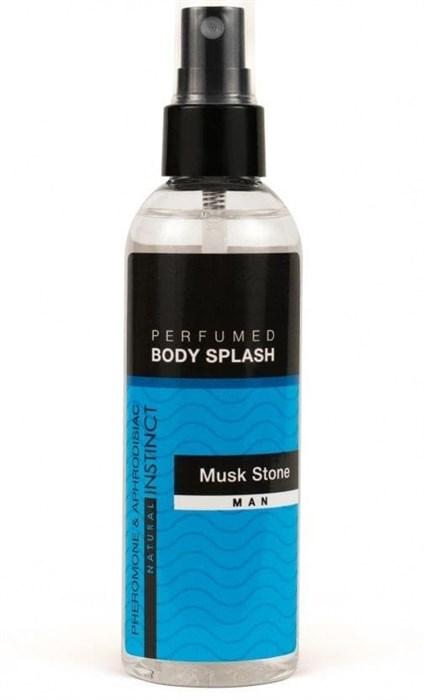 """Мужской парфюмированный спрей для тела с феромонами и афродизиаками """"Musk Stone"""", 100 мл"""