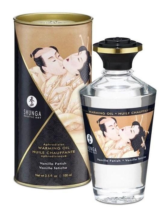 """Возбуждающее масло """"Интимные поцелуи"""" Shunga Aphrodisiac oil Vanilla (Ваниль), 100 мл"""