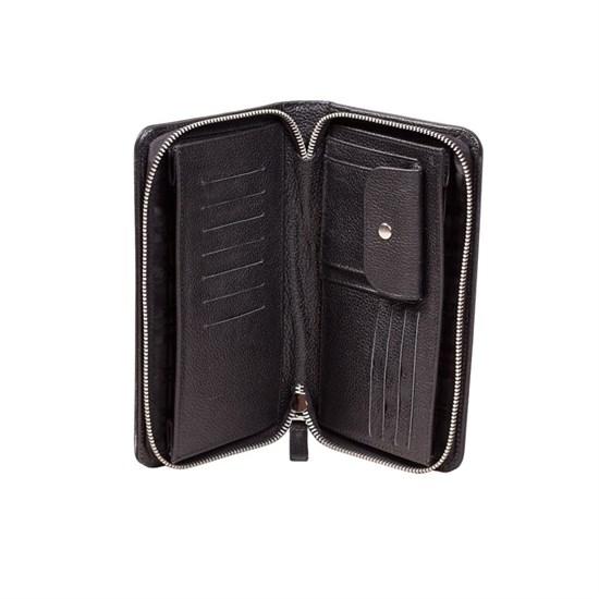 Классический клатч для документов из натуральной кожи - фото 45868