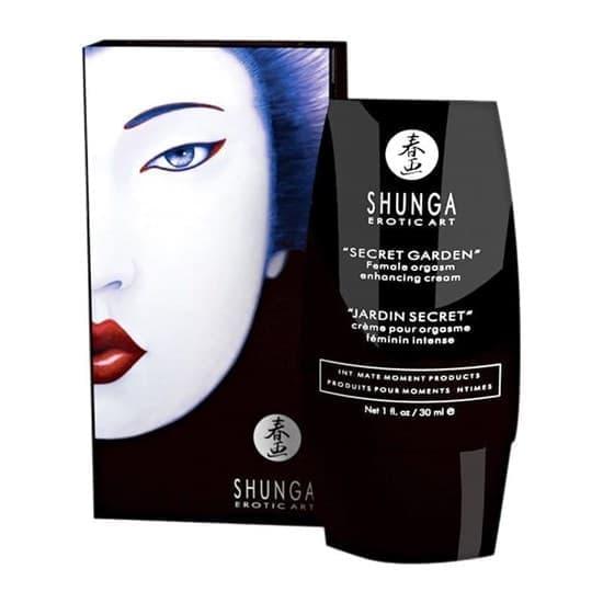 Возбуждающий женский крем для интенсивного оргазма Shunga Clitoral Enhancing Cream/ Секретный сад, 30 мл