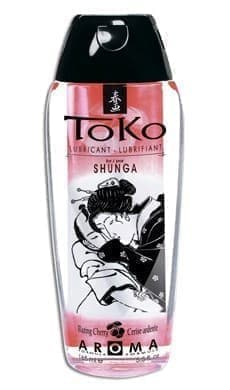 Съедобный лубрикант Shunga Toko Cherry с ароматом вишни, 165 мл