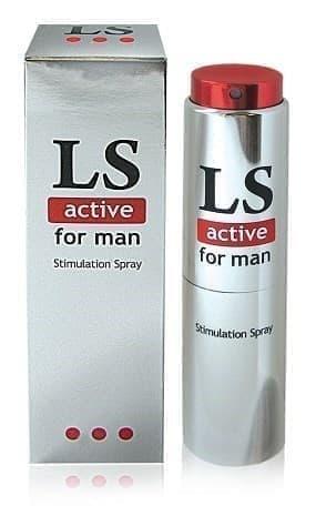 """Спрей с возбуждающим эффектом для мужчин """"LoveSpray Activ"""" (стимулятор), 18 мл"""