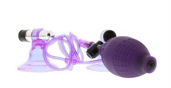 Вакуумные стимуляторы на соски с вибрацией Hi-Beam - фото 70204