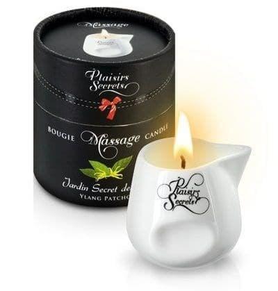 Массажная свеча с ароматом иланг-иланга и пачули Jardin Secret Des Iles Ylang/pat, 80 мл