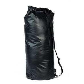 Сумка-баул водонепроницаемая Black, 80 л