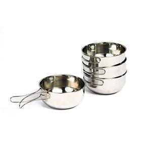 Набор походной посуды (4 котелка)