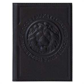 Обложка для автодокументов Royal из натуральной кожи, цвет черный