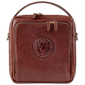 "Мужская сумка из кожи ""Royal Pad"", цвет тоскана"