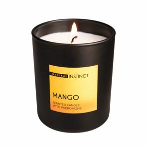 Ароматическая свеча c феромонами «Natural Instinct», аромат Манго
