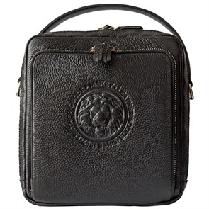"""Мужская сумка из кожи """"Royal Pad"""", цвет черный"""