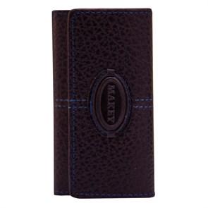 Кожаный футляр для ключей Classic, цвет бордо