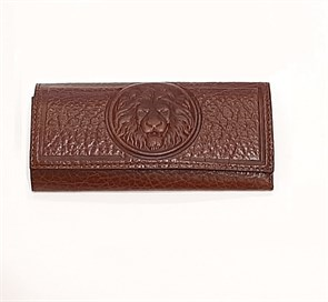 Кожаный футляр для ключей Royal, цвет тоскана