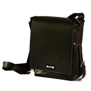 """Кожаная мужская сумка """"Casual """", цвет коричневый"""