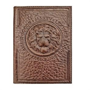 Кожаная обложка для паспорта Royal, цвет тоскана
