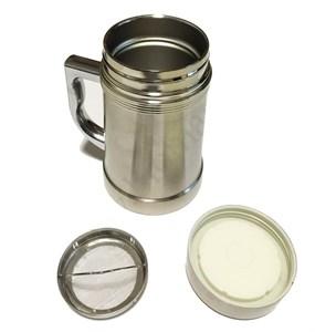 Кружка-термос магнитно-металлическая (с ситом)