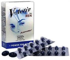 """Мужские капсулы для потенции """"V-Active Caps"""", 20шт"""