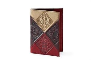 """Кожаная обложка для паспорта """"Феникс"""""""