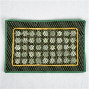 Нефритовая подушка/ коврик с сеточкой