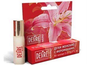 Духи женские с феромонами Mini blister №12, аромат Lacoste pour femme- Lacoste, 5 мл