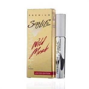 Мужские духи Sexy Life Wild Musk №2 с мускусом и феромонами (философия аромата Eros Versace), 10 мл