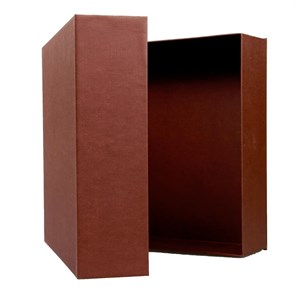 Подарочная упаковка (коробка) 34,5х30,5х9, цвет коричневый