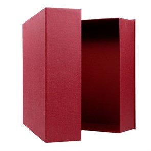 Подарочная упаковка (коробка) 34,5 х30,5 х9, цвет бордовый