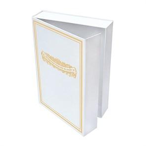 Подарочная упаковка (коробка) 24х18х5, цвет белый