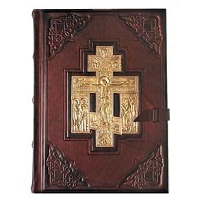 Библия большая с литьем ручной работы