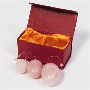 Набор яиц для вумбилдинга из розового кварца