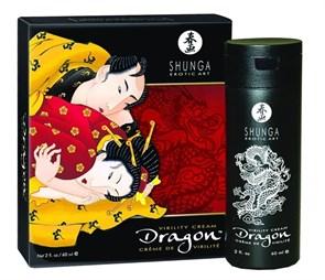 Возбуждающий крем для мужчин Shunga Dragon Virility Cream/ Мужество Дракона, 60 мл
