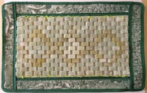 Нефритовая подушка/ коврик, 36х25 см