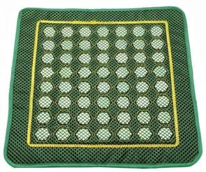 Нефритовая подушка/ коврик с сеточкой, 40х 40 см