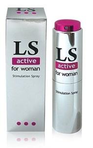 """Спрей с возбуждающим эффектом для женщин """"LoveSpray Activ"""" (стимулятор), 18 мл"""