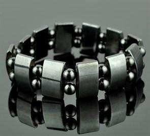 "Магнитный гематитовый браслет женский ""Сила Жизни"""