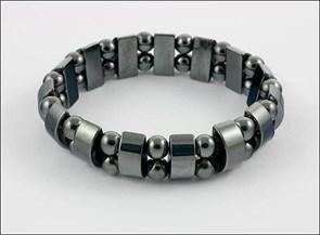 "Магнитный гематитовый браслет  ""Сила Жизни"""
