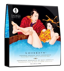 Набор для ванны Lovebath Ocean temptation, превращающий воду в гель, 650 гр