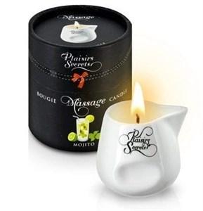 Массажная свеча с ароматом мохито Bougie de Massage Mojito, 80 мл