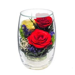 {{photo.Alt || photo.Description || 'Композиция из красных  и желтых роз (арт. RmiR5c1) в подарочной упаковке'}}